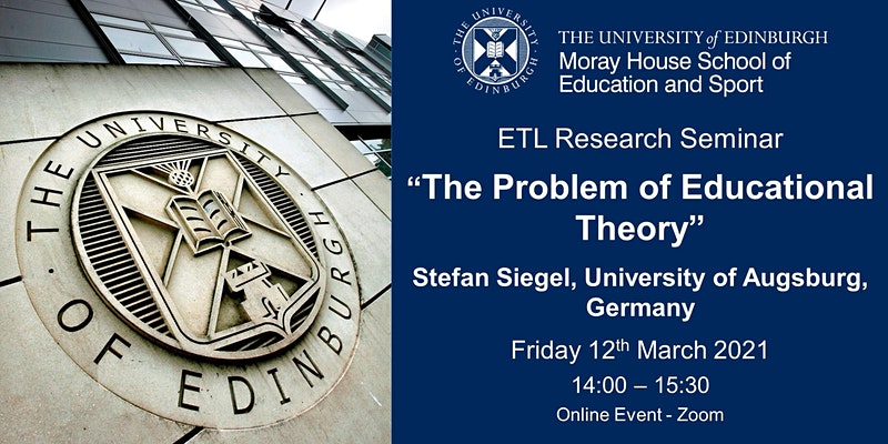 The Problem of Educational Theory